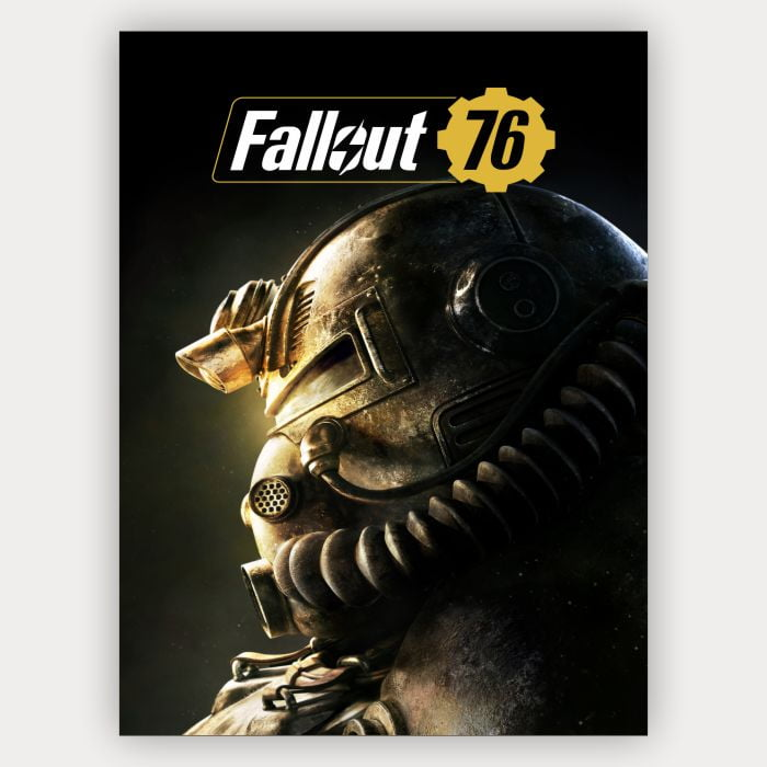 Placa Decorativa Fallout 76