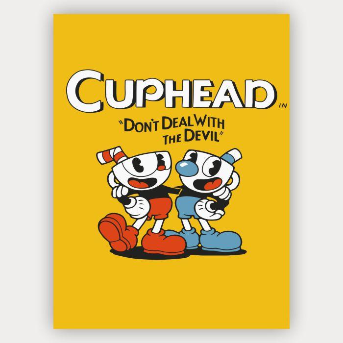 Quadro decorativo Cuphead