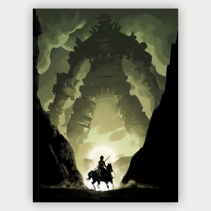 Quadro Decorativo shadow of the colossus
