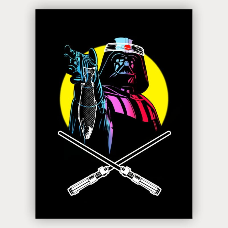 Quadro Decorativo Velcro Darth japan vader - Star Wars