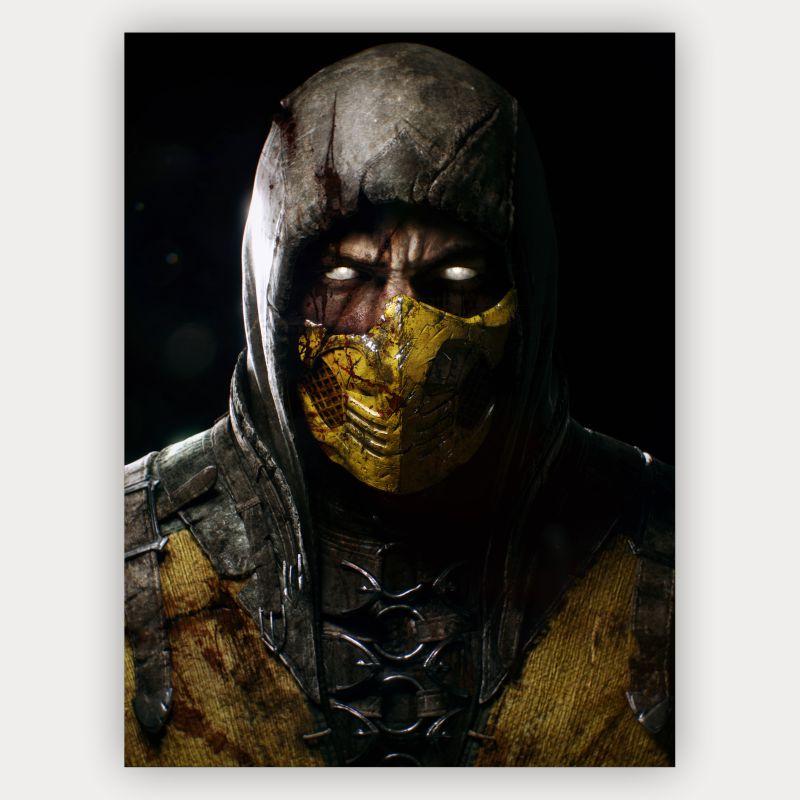 Quadro Scorpion - Mortal Kombat