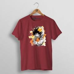 Camiseta Goku Nuvem voadora