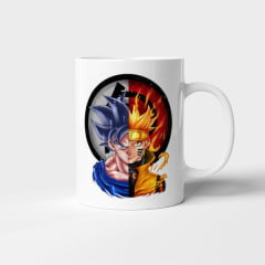 Caneca Goku e Naruto