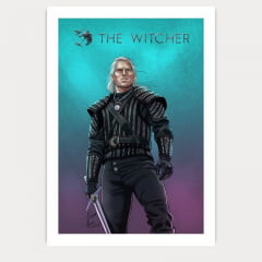 Quadro Geralt de Rivia - The witcher