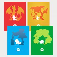 Coleção de quadros Pokemon