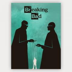 coleção de quadros série breaking bad