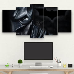 Kit 5 Quadros mosaico THE BATMAN