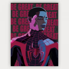 Quadro Decorativo Spider-Man Miles Morales