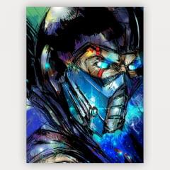 Quadro Sub Zero - Mortal Kombat