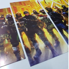Kit 5 Quadros counter strike global offensive - CSGO