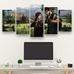 Kit 5 Quadros The last of us
