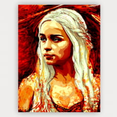 Quadro Daenerys - Game of thrones