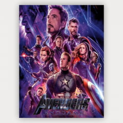 Quadro Decorativo Avengers End Game