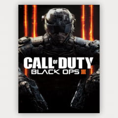 Quadro Decorativo Call Of Duty Black ops 3
