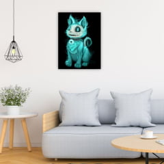 Quadro Decorativo Gato Fantasma