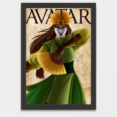 Quadro Decorativo Kyoshi - Avatar