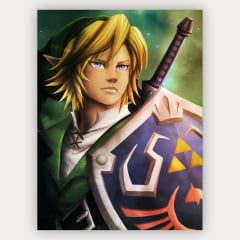 Quadro Decorativo Link - The legend of Zelda