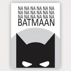 Quadro Decorativo nananana Batman