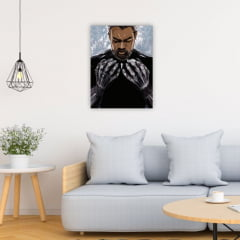 Quadro Decorativo Pantera Negra - Marvel Comics