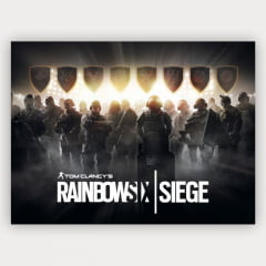 Quadro Decorativo Rainbow six Siege