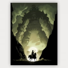 Quadro Decorativo shadow of the colossus