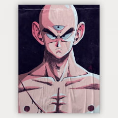 Quadro Decorativo Tenshinhan - Dragon Ball