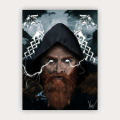 Quadro Decorativo THOR THUNDER GAME GOD OF WAR