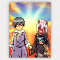 Quadro Decorativo Velcro DARLING in the FRANXX