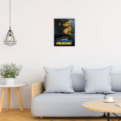 Quadro Decorativo Velcro Detetive pikachu - Pokémon
