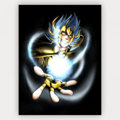 Quadro Decorativo Velcro Manigold de Câncer - Saint Seiya: The Lost Canvas