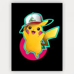 Quadro Decorativo Velcro Pikachu - Pokemon