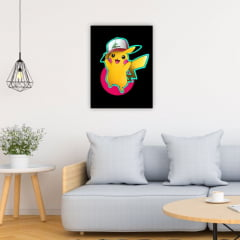Quadro Decorativo Velcro Pikachu - Pokemon