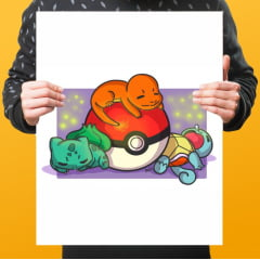 Quadro Decorativo Pokémon