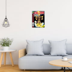 Quadro Decorativo Velcro Revista Chazam do Chaves