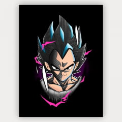 Quadro Decorativo Velcro vegeta - Dragon Ball