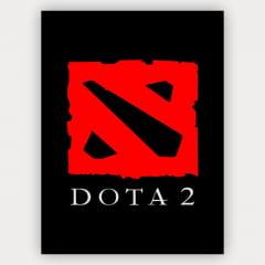 Quadro Dota 2 - Logo