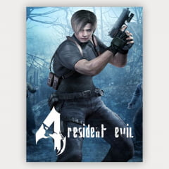 Quadro Gamer Resident Evil 4