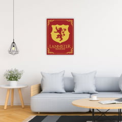 Quadro House Lannister - Game of Thrones