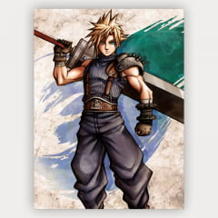 Quadro Cloud Strife - Final Fantasy